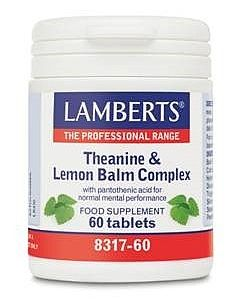 Lamberts Theanine and Lemon Balm Complex
